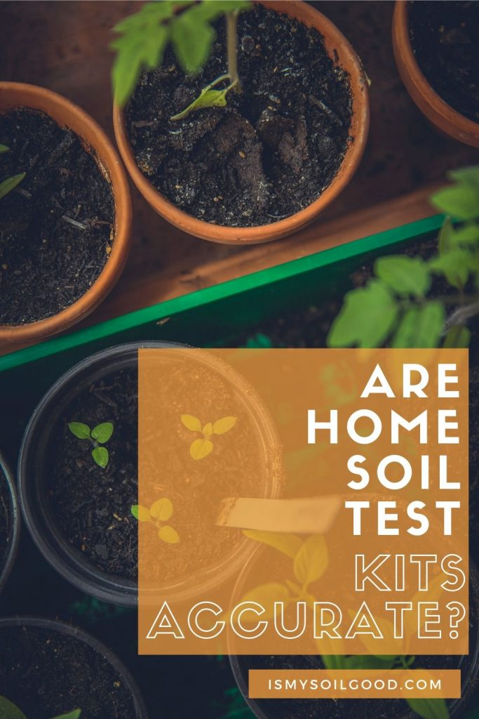 Are home soil test kits accurate